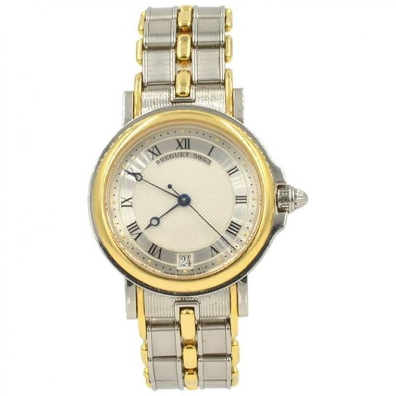 Breguet Marine Steel and Gold Two-Tone Automatic Wristwatch