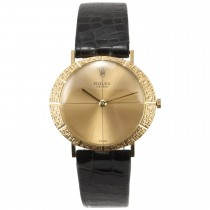 Rolex 18K Gold Dress Wristwatch, Ref 3613, Circa 1957