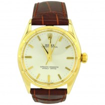 Rolex Oyster Perpetual Gold Watch, Ref 1003, Circa 1966