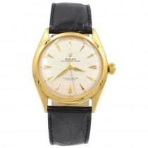 Rolex 18K Gold Oyster Perpetual Wristwatch Ref 6084, Circa 1962