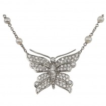 Tiffany Butterfly Necklace