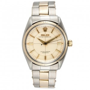 Rolex Two-Tone Oyster Perpetual Wristwatch, Ref 6565