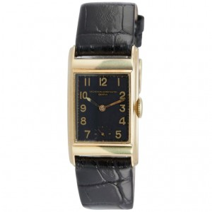 Vacheron & Constantin 18K Gold Dress Model Wristwatch Circa 1940s