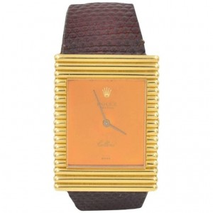 Rolex Cellini 18K Yellow Gold Wristwatch Ref 4012 Circa 1973