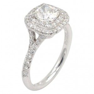 Tiffany & Co. Soleste 0.71 Carat Cushion Cut Diamond