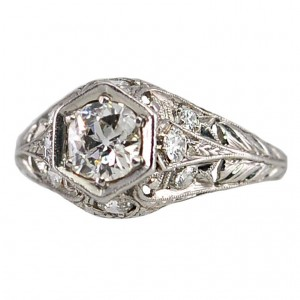 Beautiful Antique Engagement Ring