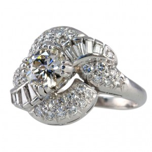 1.04ct. Diamond Cluster Ring
