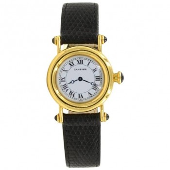 Cartier Diabolo Ladies 18K Yellow gold Wristwatch