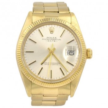 Rolex 14K Yellow Gold Date Wristwatch, Ref 1503, 1981