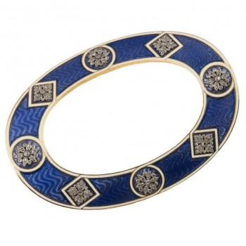 CARTIER Paris Large Oval Brooch
