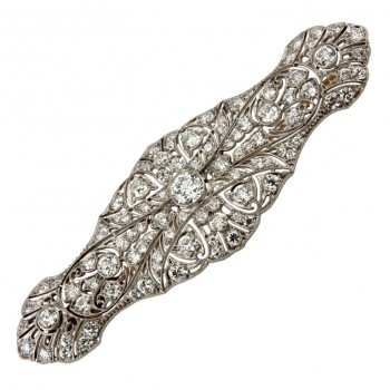 TIFFANY & CO. Edwardian Diamond Brooch