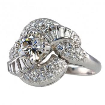 1.04ct. Diamond Cluster Ring