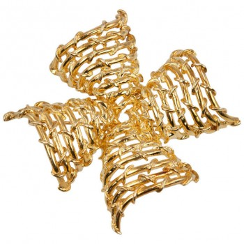 Tiffany & Co. Gold Maltese Cross Brooch