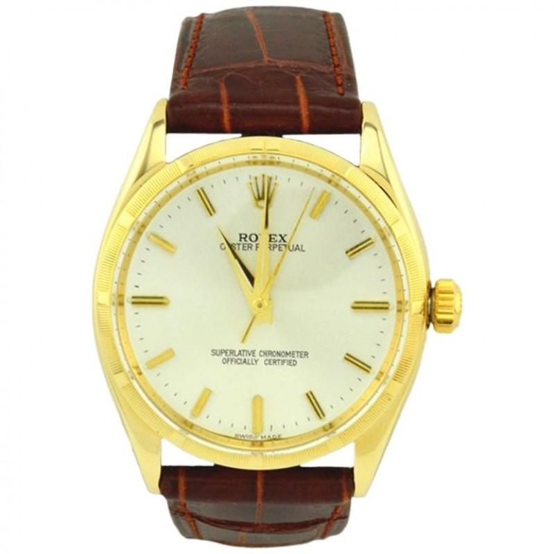 Rolex Oyster Perpetual Gold Watch, Ref 1003, Circa 1966