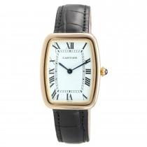 "Cartier Large ""Square Incurvee"" 18K Gold Wristwatch, Circa 1980s"