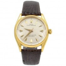 Rolex 18K Gold Oyster Perpetual Chronometer Wristwatch, Ref 6567, Circa 1967