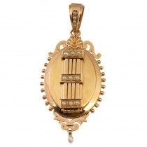 Large Victorian Gold Locket