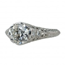 1.51 Carat Diamond Engagement Ring