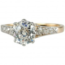 Splendid Victorian 1.25 Carat Engagement Ring