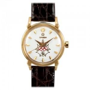 Omega Seamaster XVI 18K Gold Watch, Circa 1956