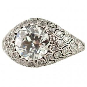 Fabulous Diamond Dome Ring