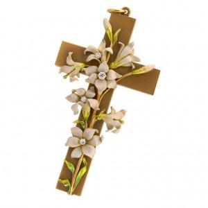 KREMENTZ Art Nouveau Cross