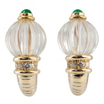 Boucheron Crystal Earrings